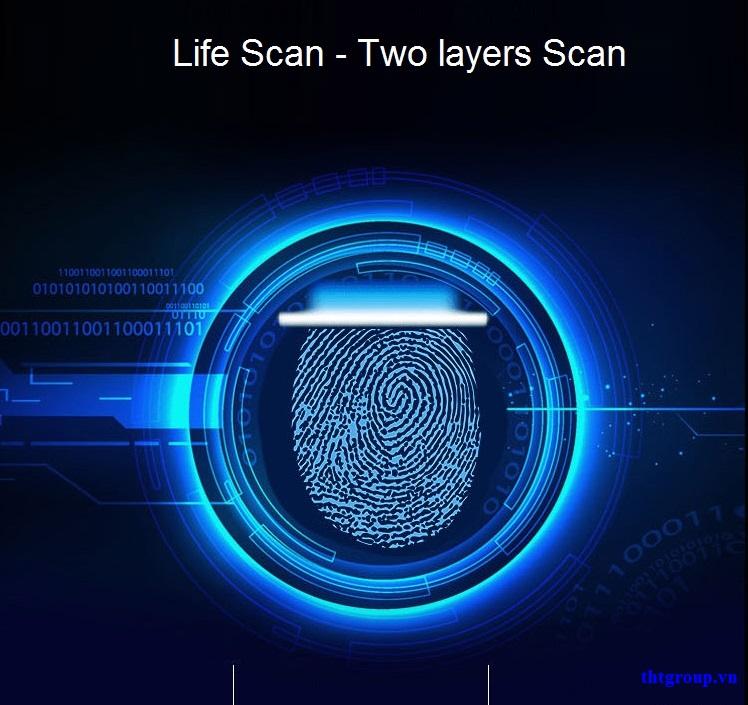 Công nghệ vân tay Life Scan !
