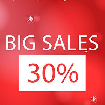 BÙNG BỔ BIG SALES 30%