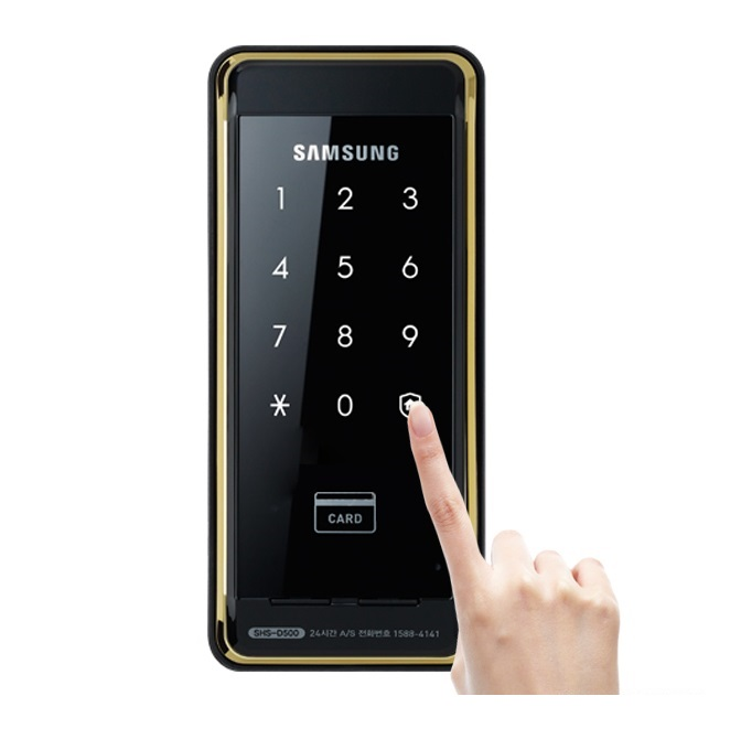 Samsung SHS D500 <br> Thẻ, mã số +